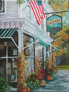 Clarita Scioscia - Lackey's- Oil - Painting entry - August 2015 | BoldBrush Painting Competition