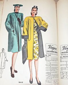 Vogue Patterns catalog, March 1946 featuring Vogue 366