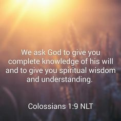Col 1:9