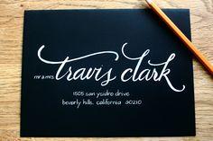 Blog | Anne Robin: Los Angeles Calligrapher, Hand Written Calligraphy, Wedding Invitations - Part 2