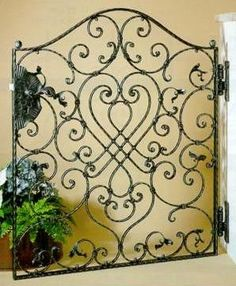 Artistic Iron Gate,garden Gate, Wrought Iron Gate,side Gate China  (Mainland) Fencing, Trellis U0026 Gates