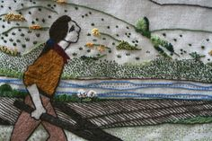 James Small and the invention of the swing plough. Love the neeps and kale. My Roots, Dundee, Textile Art, Fiber Art, Inventions, Tartan, Textiles, Tapestry, Embroidery