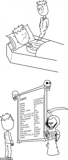 Life stats after death