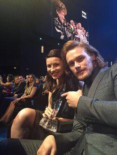 Yes! RT @fergusfraser Congrats @Outlander_Starz for Favorite SciFi/Fantasy CableTV Show!!! #WinnerWinnerHaggisDinner