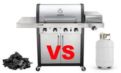 Charcoal v.s Gas grilling