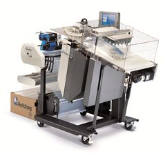 Pyramid Packaging carries a complete line of infeed systems, including weigh scales,automatic counters, conveyors,and kit packaging systems for integration with Automated Packaging Systems Autobag® and SidePouch™bag packaging systems.