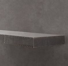 Restoration Hardware: Zinc Wall Shelf Straight