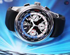 """Blue Mist Visions!"" #GirardPerregaux 43mm WW.TC BMW – Oracle Chrono LTD ED Ref#: 49800.11.657.FK6A ($5,475.00 USD) http://www.elementintime.com/Girard-Perregaux-WW.TC-BMW-Oracle-Chronograph-49800.11.657.FK6A-Limited-Edition-Pre-Owned"