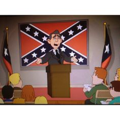 Haha no way. Family guy George W. as the president of the confederacy #tfm