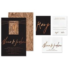 riley greys new burlwood wedding website design featuring a cork paper invitation suite