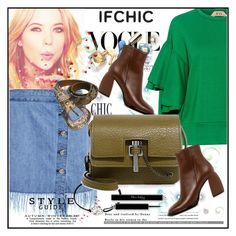 """""""Valentine's Day Style: Create with IFCHIC"""" by lila2510 ❤ liked on Polyvore featuring N°21, 3x1, TIBI, Alex and Ani, Carven, valentinesday, ifchic and worldwideshipping"""
