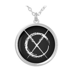Slender Man Silver Plated Necklace ($26) ❤ liked on Polyvore featuring jewelry, necklaces, thin necklace, silver plated jewelry, urban jewelry, urban necklaces and silver plating jewelry