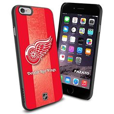 """Detroit Red Wings iPhone 6 4.7"""" Case Cover Protector for iPhone 6 TPU Rubber Case SHUMMA http://www.amazon.com/dp/B00T5M2AW0/ref=cm_sw_r_pi_dp_278lvb18E8H16"""