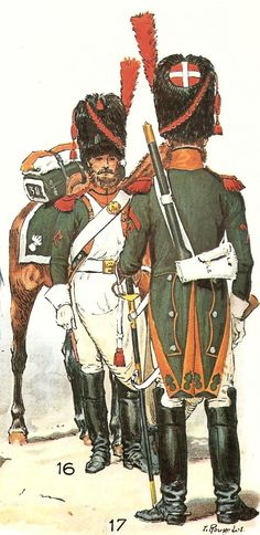 French; 30th Dragoons, Sappers by L.Rousselot