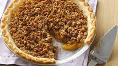 Gluten Free Peach Crumble Pie