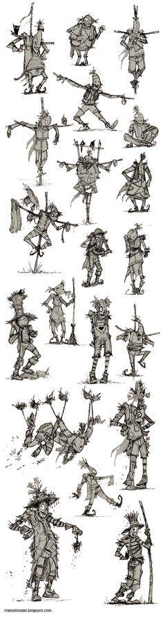 wizard of oz scarecrow poses - Google Search