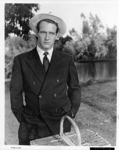 Paul Newman dans The Long, Hot Summer, 1958.