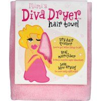 """Special towel to dry hair and """"plop"""" your hair with"""