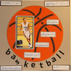 A game of basketball (1 of 2) - Scrapbook.com