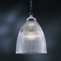 Medium prismatic pendant | Lighting | Andy Thornton