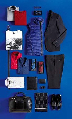 56e8a5203a28 Pull BANCS Gris Pull BANK Rouge Noeud Papillon Marine Costume ADANA NAVY  Blouson ISSOR Bleu T