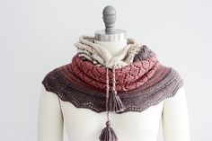 Ravelry: Chilkat Cowl pattern by Rosemary (Romi) Hill