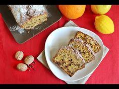 Plumcake mele noci e cioccolato da colazione sofficissimo