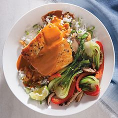 Coconut Curry Halibut   CookingLight.com #myplate, #protein