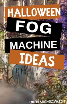 I love using a fog machine to make my outdoor Halloween decorations look spooky. Learn how to make fog stay low to the ground with this easy DIY chiller that can be used with any fog machine...no dry ice required. | Yard Haunt Halloween Yard Art, Halloween Graveyard, Halloween Scene, Outdoor Halloween, Halloween Stuff, Halloween Ideas, Halloween Party, Fog Machine, Homemade Halloween Decorations