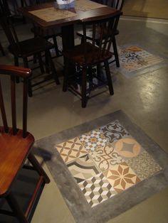 Gaston Bachelard, Barbacoa, Mosaic Tiles, Fixer Upper, Painted Furniture, Tile Floor, Sweet Home, Patio, Flooring