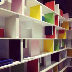 Orlando Gatica Studio's Modular Brick Bookshelf — London Design Festival