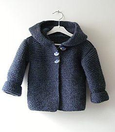 Kids hooded jacket. Free pattern