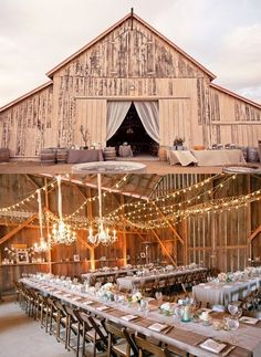 barn wedding.