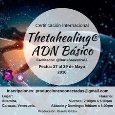 THETAHEALING® es un proceso de meditación con una oración enfocada a través del Creador, que genera sanación física, psicológica y espiritual.    27 al 29 Mayo 2016   Caracas, Venezuela    #Thetahealing #ViannaStibal  #ApasiónateDeTi #PasiónPorLaVida #EncuentraTuVerdad #Conexión #ConexiónPlena #Energía #Evolución #Meditación #HazLoQueAmas #Curso #Taller #Caracas #Venezuela