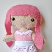 Sassy Cutie Pie Pocket Doll - via @Craftsy