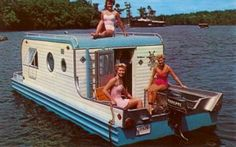 Old School houseboat, the kind we we're created on. ;)
