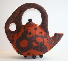 morgan contemporary glass gallery - Images for Pamela MacGregor - Not Just a Rusty Bucket Pottery Teapots, Ceramic Teapots, Cute Teapot, Mixed Media Sculpture, Historical Artifacts, Teapots And Cups, Tea Cozy, My Cup Of Tea, Tea Ceremony