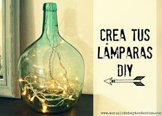 Lámparas DIY