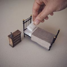 Emily Boutard - I quit my job as a corporate lawyer two years ago to make tiny furniture and study architecture full time.