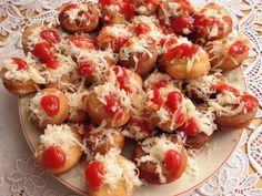 Pizza Recipes, Finger Foods, Pasta Salad, Baked Potato, Potato Salad, Cauliflower, Shrimp, Appetizers, Meat