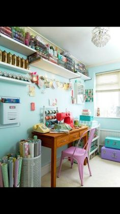 CRAFT ROOM Turn A Spare Area Into Streamlined Creative Space With These Smart Ideas
