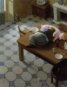 Paintings by Michael Sowa (20 photos) - Xaxor