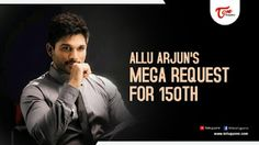 "Megastar Chiranjeevi's 150th film is launched and everyone including Allu Arjun is looking forward to it. Speaking at ""Sarrainodu"" success meet the other day,.........Read More..."