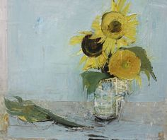 Ffiona Lewis(British, b.1964) Sunny Face, Four, 2011 Oil on board  More