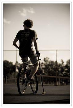 "Bike Polo -  ""Boyd"" photo by Sarah Jane Sanders / SANOLA"