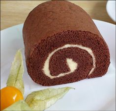 KitchenTigress: Chocolate Swiss Roll Ended up with cracks on my first try--probably due to the cake being slightly too thick/me touching it to roll it. Didn't care, still tasted great! Couldn't find the cocoa powder brand the recipe asked for, so I used Hershey's special dark. Worked out!
