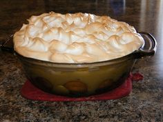 homemade puddings | Homemade Banana Pudding