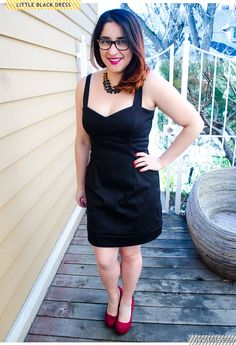 LBD, Georgia Dress | Sew Anita