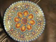 +18 Mandala from Mystical Mandala Coloring Book.  Kendra Frosty