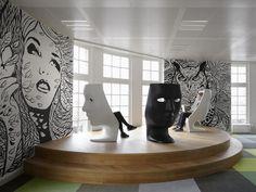 Fabio Novembre. Love the murals mostly!